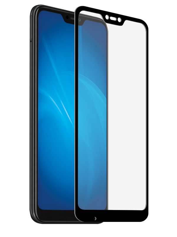 Защитный экран Red Line для Xiaomi Mi A2 Lite Full Screen Tempered Glass Glue Black УТ000017059