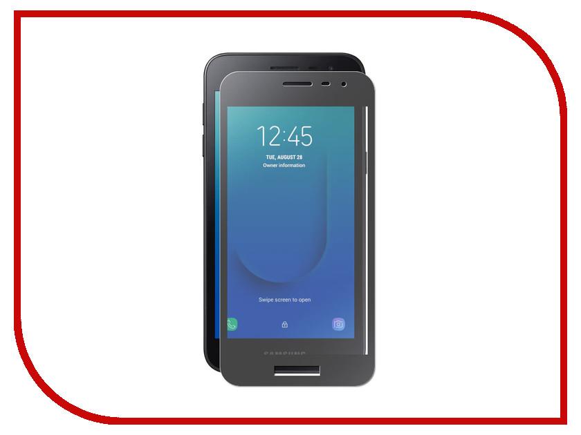 Аксессуар Защитный экран для Samsung Galaxy J2 Core J260F Red Line Full Screen Tempered Glass Full Glue Black УТ000017067