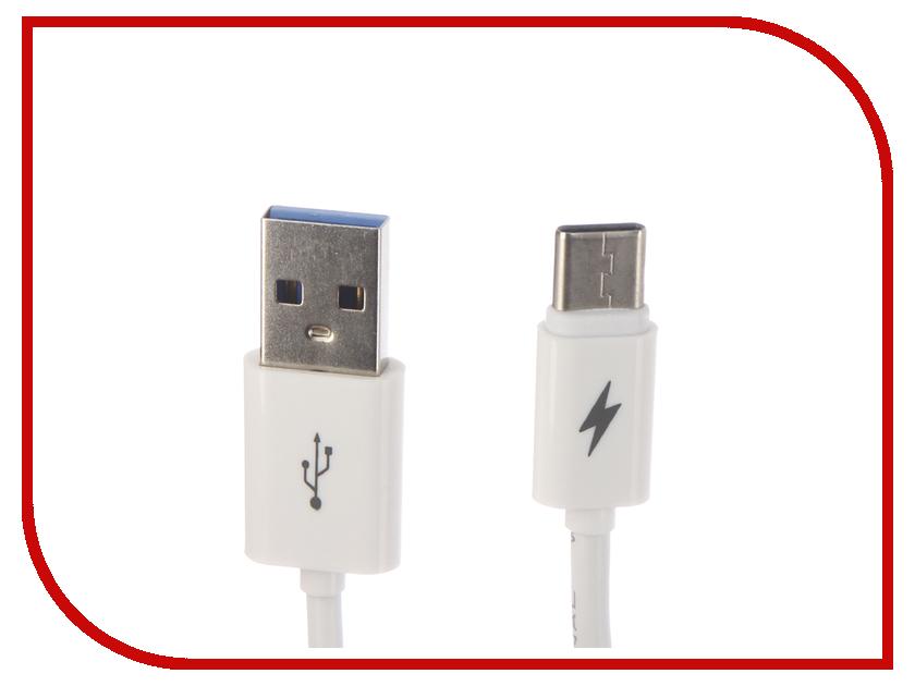 Аксессуар Red Line USB - Type-C 2m White УТ000017103 аксессуар usams us sj194 usb type c lightning 1 2m red