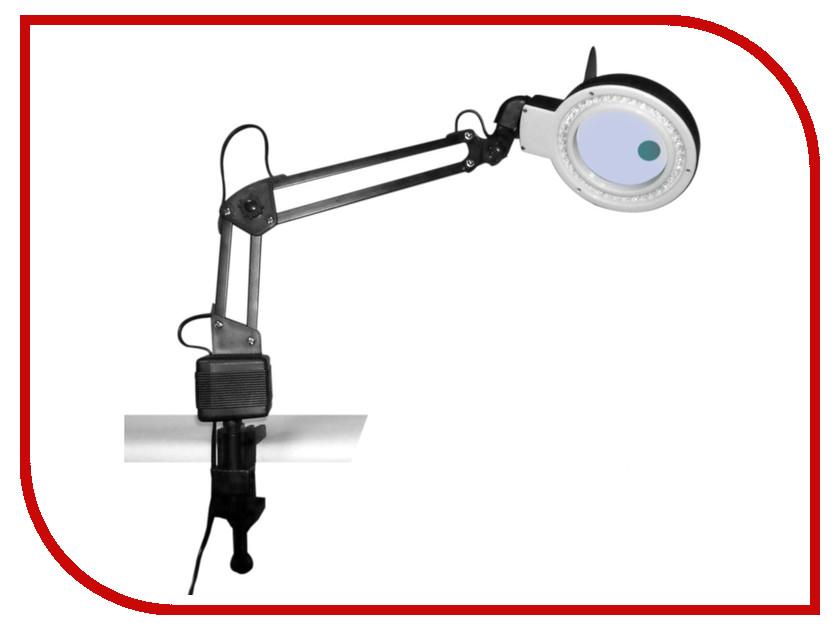 Лупа настольная Kromatech 2x/20x с подсветкой 40 LED 23149b202 20x monocular stereo microscope with 20x up right image small size 2x objective and wf10x eyepiece
