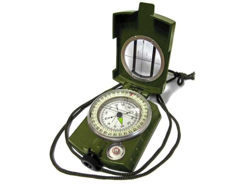 Компас Kromatech Армейский 58mm с уровнем и визиром Green 57149b016