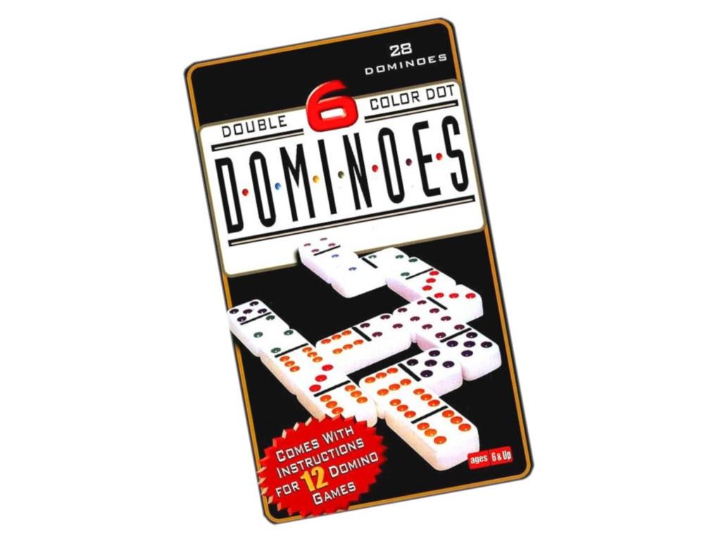 Настольная игра Kromatech Домино 7710m003 настольная игра домино