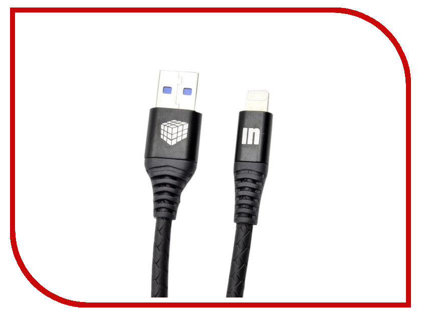 Аксессуар Innovation A1I-COBRA 3.A USB - Lightning 2m Black 13309 аксессуар usams us sj199 usb lightning 1 2m black