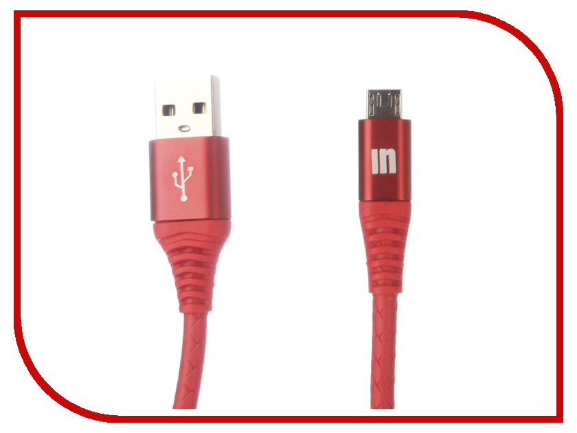 Аксессуар Innovation A1I-COBRA 3.A USB - Micro-USB 2m Red 13322