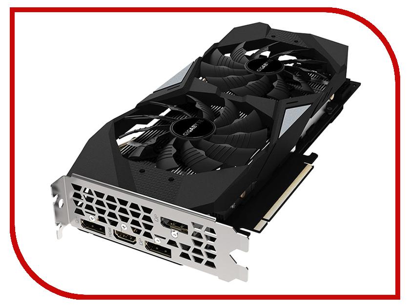 Видеокарта GigaByte GeForce RTX 2060 Windforce OC 1770Mhz PCI-E 3.0 6144Mb 14000Mhz 192 bit HDMI 3xDP GV-N2060WF2OC-6GD