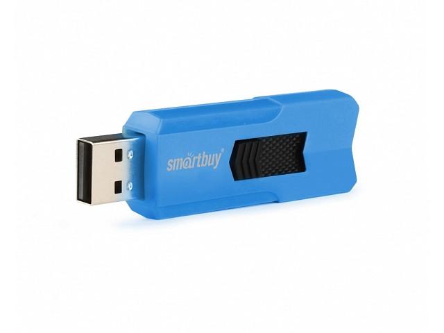 USB Flash Drive 64Gb - SmartBuy Stream Blue SB64GBST-B usb flash drive 32gb smartbuy v cut blue sb32gbvc b