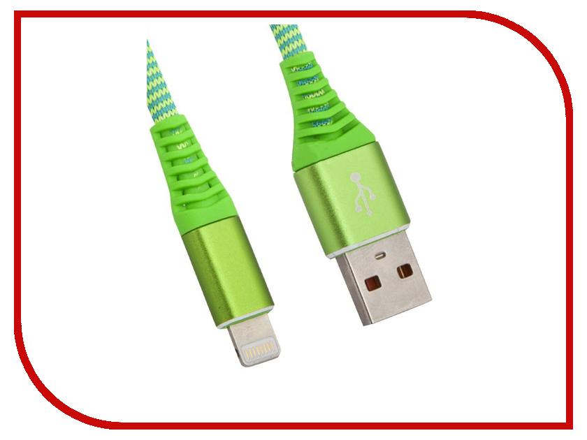 Аксессуар Liberty Project для USB-Lightning 8 pin Носки 1m Green 0L-00038859 цена и фото