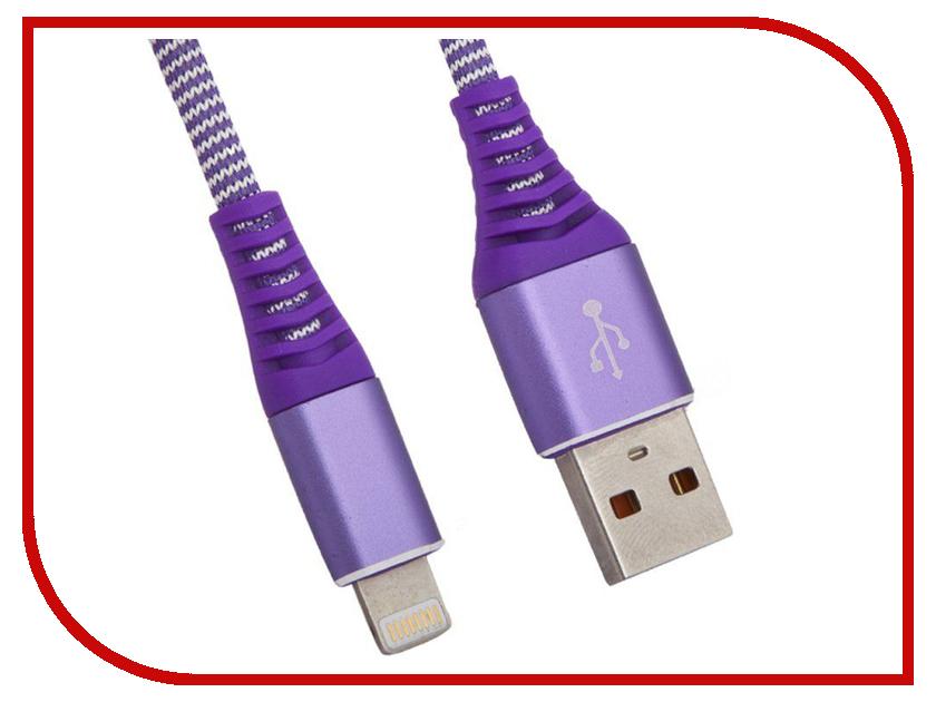 Аксессуар Liberty Project для USB-Lightning 8 pin Носки 1m Purple 0L-00038862 aluminum project box splitted enclosure 25x25x80mm diy for pcb electronics enclosure new wholesale