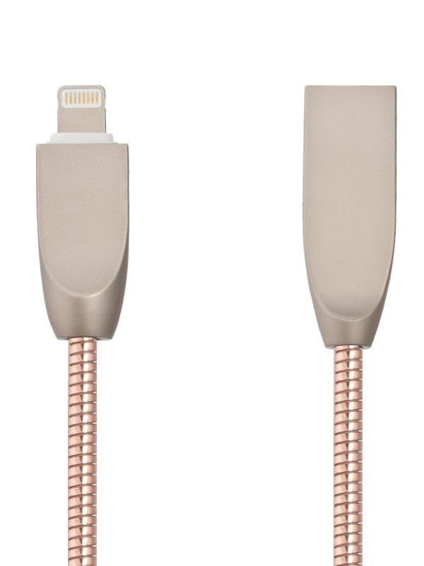 Аксессуар Liberty Project для USB-Lightning 8 pin Панцирь 1m Rose Gold 0L-00040511 цена и фото