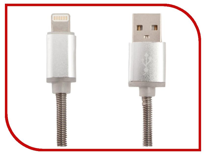 Аксессуар Liberty Project для USB-Lightning 8 pin Пружина 1m Steel 0L-00040505 аксессуар liberty project usb lightning для iphone ipad 8 pin 1m black 0l 00000881