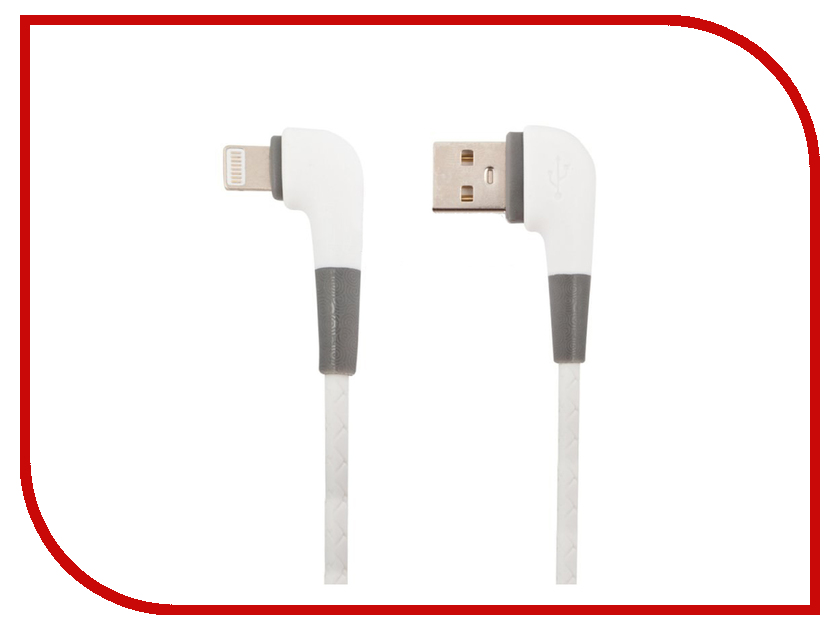 Аксессуар Liberty Project для USB-Lightning 8 pin 1m White 0L-00040646 аксессуар xo usb lightning 8 pin 2 0m gold nb10