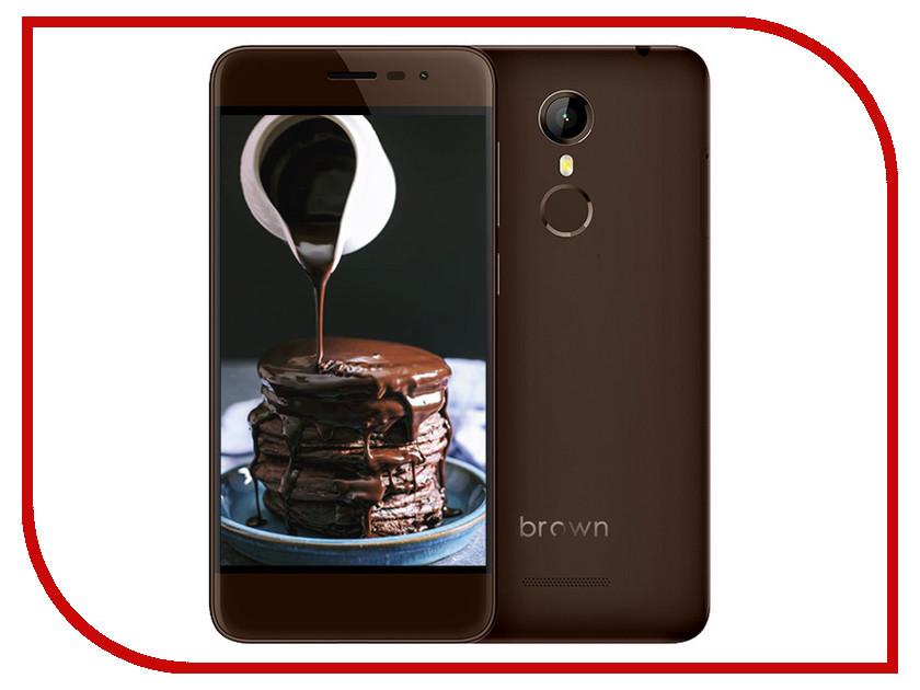 Сотовый телефон Ark 1 Brown цена и фото