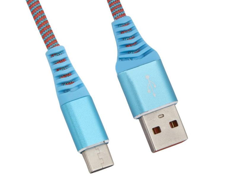 Аксессуар Liberty Project USB - Type-C Носки 1m Light-Blue 0L-00038897 аксессуар perfeo usb 2 0 a usb type c 1m black blue u4903