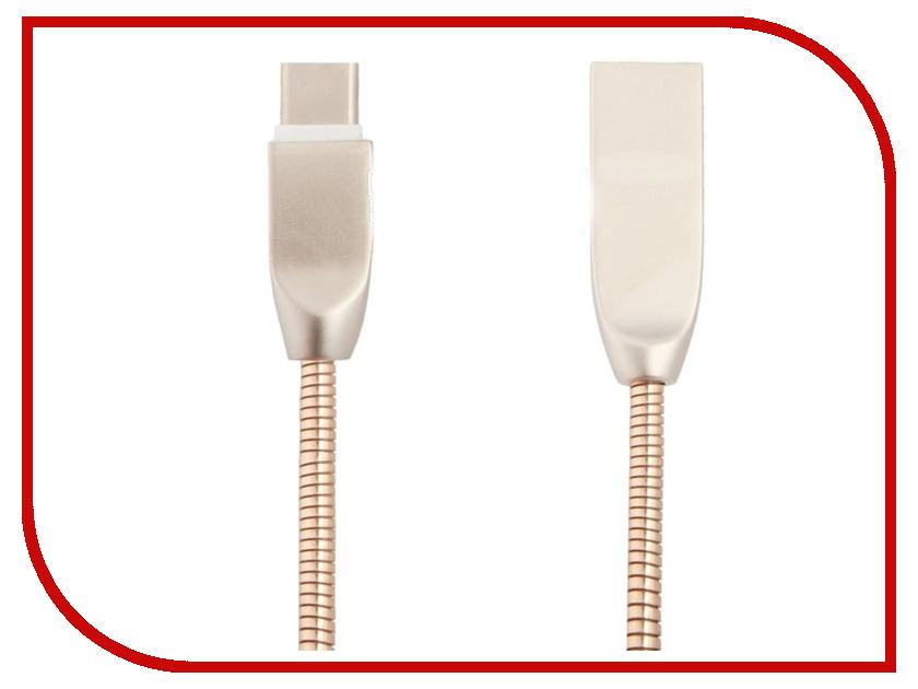Аксессуар Liberty Project USB - Type-C Панцирь 1m Gold 0L-00040518