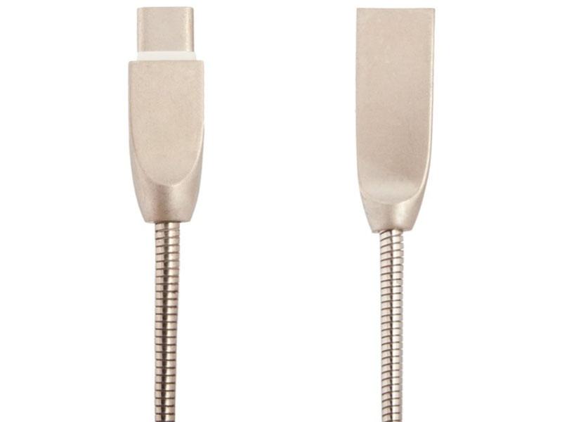 Аксессуар Liberty Project USB - Type-C Панцирь 1m Silver 0L-00040517 цена и фото