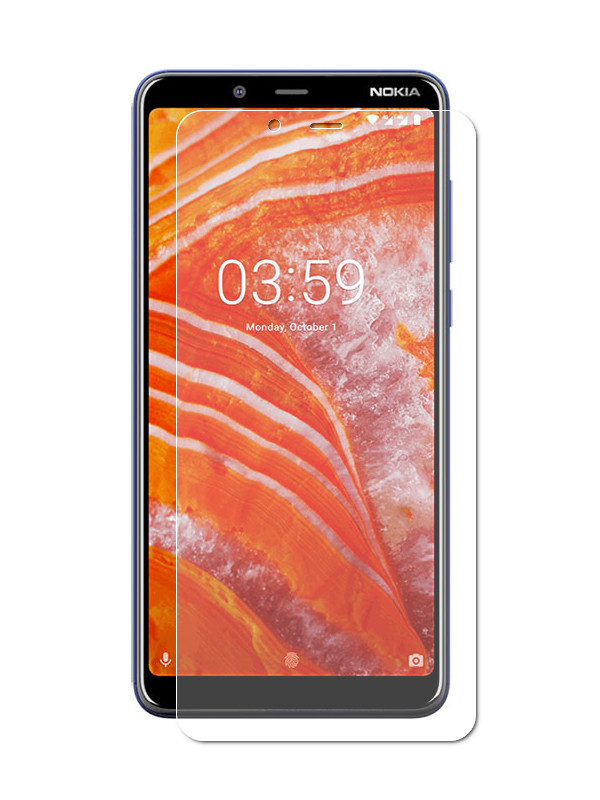 Защитное стекло Liberty Project для Nokia 3.1 Plus Tempered Glass 2.5D 0.33m 0L-00040903