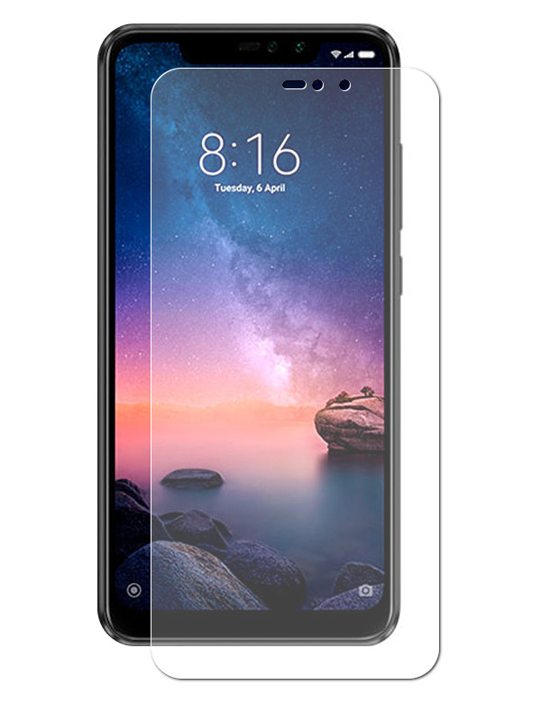 Аксессуар Защитное стекло Liberty Project для Xiaomi Redmi Note 6 Pro Tempered Glass 2.5D 0.33mm 0L-00040676