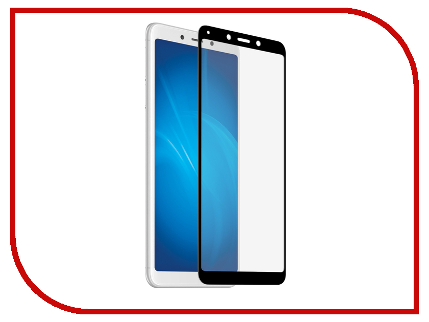 Аксессуар Защитное стекло для Xiaomi Redmi 6A Liberty Project Tempered Glass 2.5D 0.33m Black Frame 0L-00039301 aluminum project box splitted enclosure 25x25x80mm diy for pcb electronics enclosure new wholesale