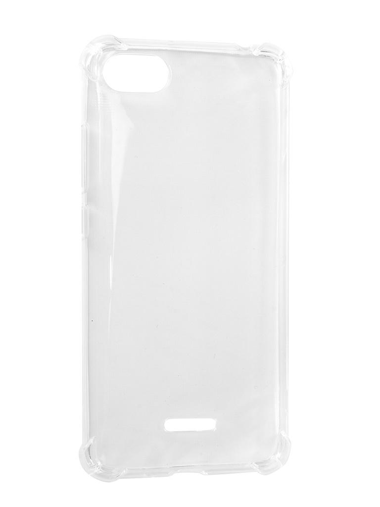 Чехол Liberty Project для Xiaomi Redmi 6A Silicone TPU Armor Case Transparent 0L-00039354