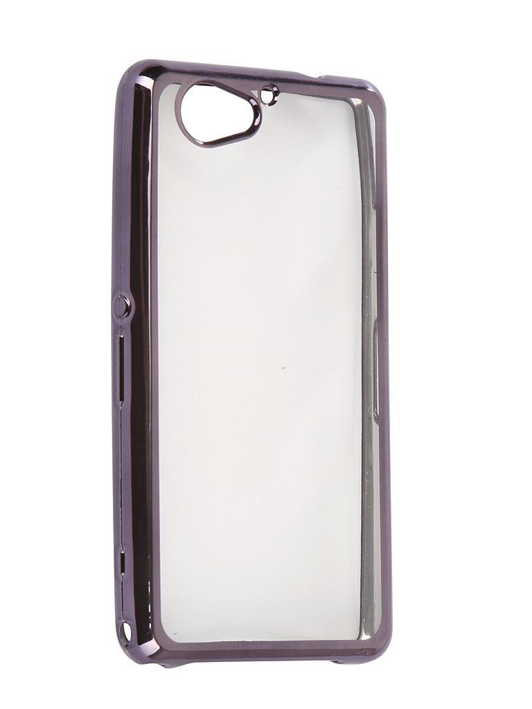 Аксессуар Чехол Liberty Project для Sony Xperia XZ2 Compact Silicone TPU Transparent Black-Chrome Frame 0L-00030886 аксессуар чехол для sony xperia xz2 compact brosco transparent xz2c tpu transparent