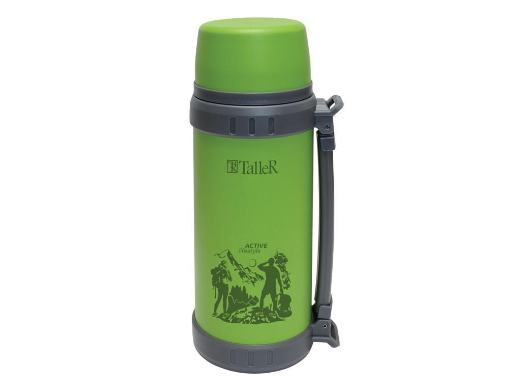 Термос TalleR 1.1L Green TR-2420