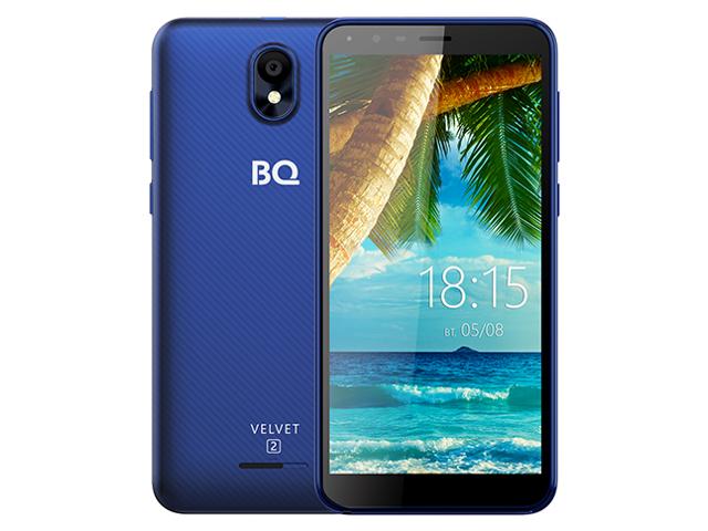 Сотовый телефон BQ 5302G Velvet 2 Blue смартфон bq mobile bq 5302g velvet 2 mint blue