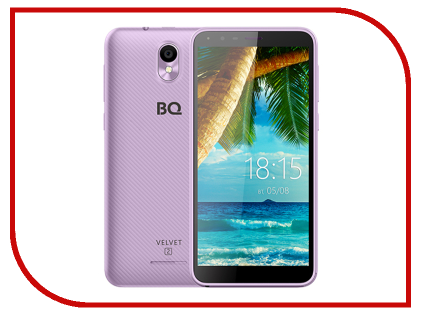 Сотовый телефон BQ 5302G Velvet 2 Purple сотовый