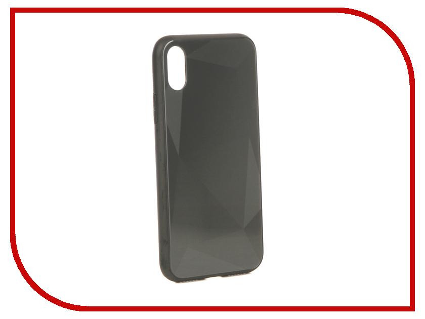 Аксессуар Чехол Liberty Project для APPLE iPhone X Diamond Glass Case Black 0L-00040376 gumai silky case for iphone 6 6s black