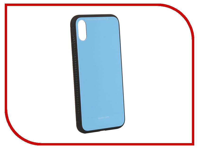 Аксессуар Чехол Liberty Project для APPLE iPhoneля X Glass Case Light-Blue 0L-00040357 aluminum project box splitted enclosure 25x25x80mm diy for pcb electronics enclosure new wholesale