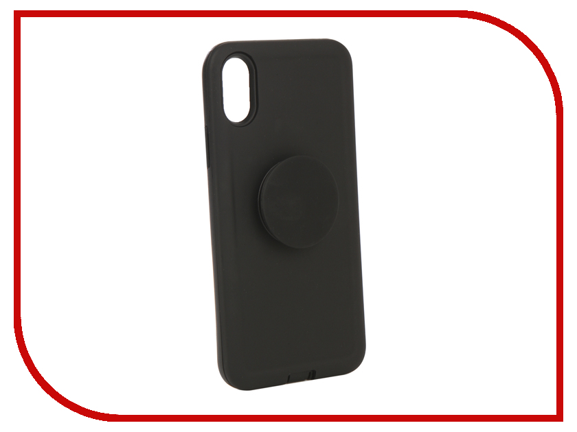 Аксессуар Чехол Liberty Project для APPLE iPhone X PopSocket Case Black 0L-00040422 gumai silky case for iphone 6 6s black