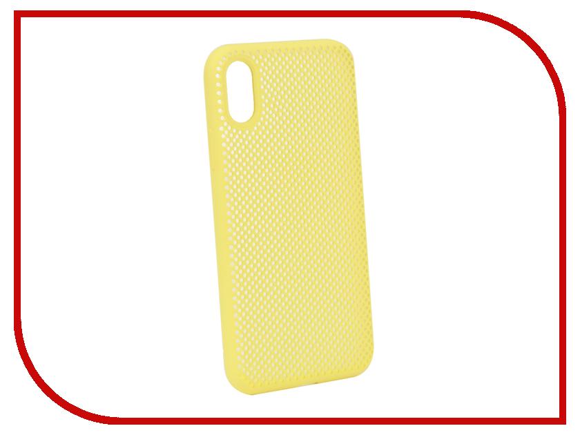 Аксессуар Чехол Liberty Project для APPLE iPhone X Silicone Dot Case Yellow 0L-00040411 аксессуар защитная крышка liberty project для apple iphone x rose red 0l 00036271