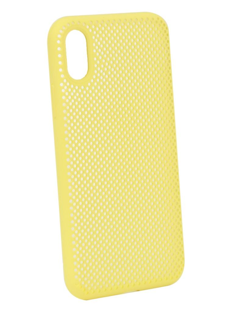 Аксессуар Чехол Liberty Project для APPLE iPhone X Silicone Dot Case Yellow 0L-00040411 bluetooth кнопка liberty project 0l 00000470 yellow