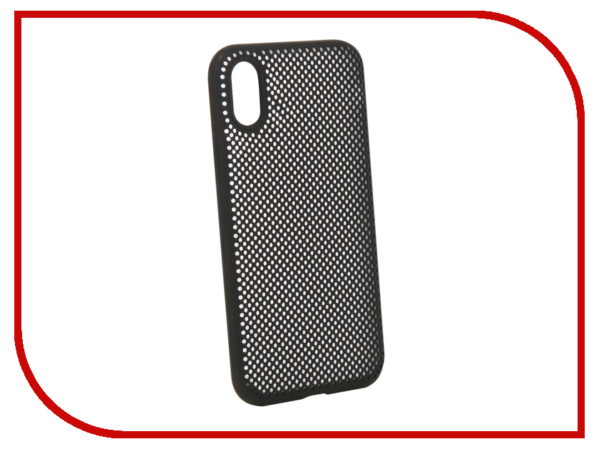 Аксессуар Чехол Liberty Project для APPLE iPhone X Silicone Dot Case Black 0L-00040408 aluminum project box splitted enclosure 25x25x80mm diy for pcb electronics enclosure new wholesale