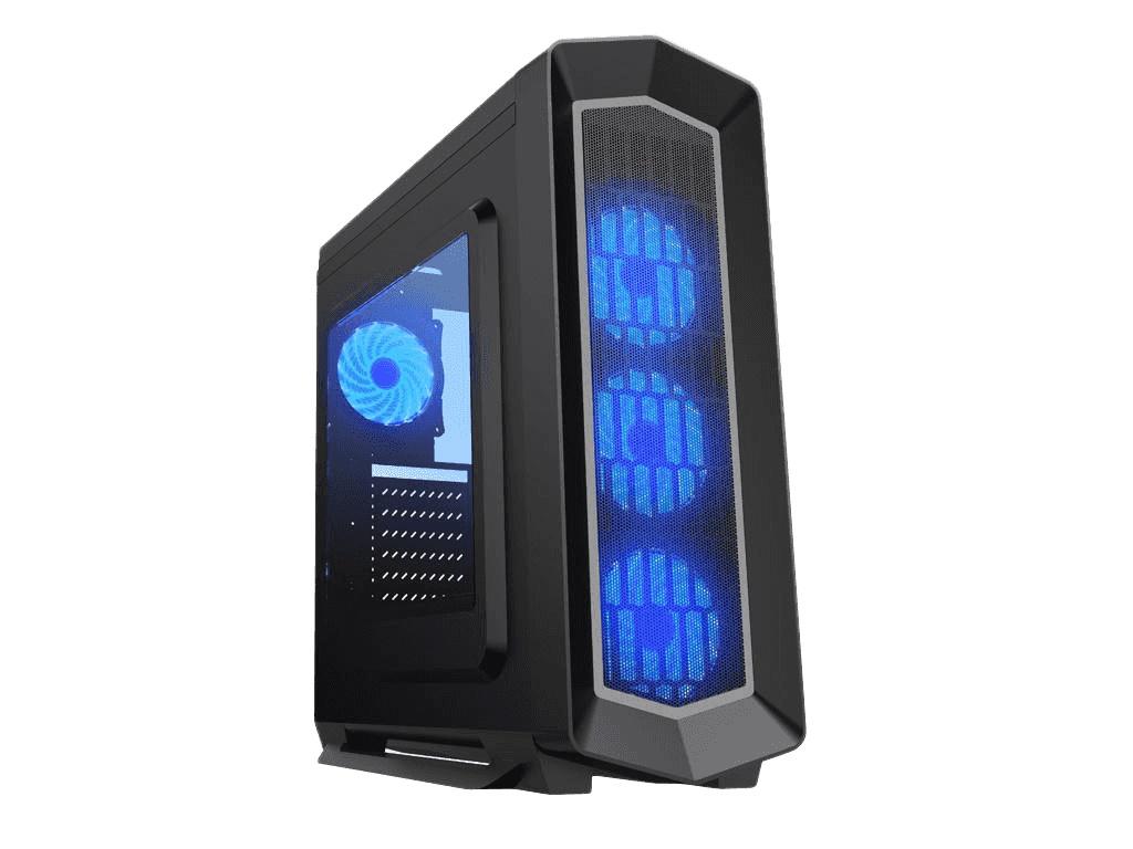Корпус GameMax G516 Asgard Blue