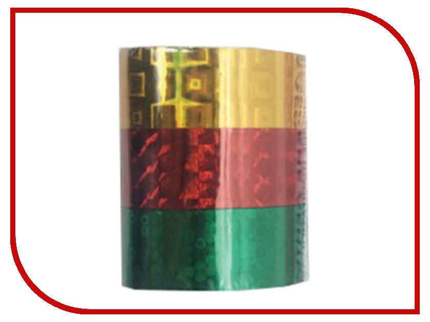 Клейкие ленты Остров Сокровищ 15mm х 5m 3шт ассорти №2 227277