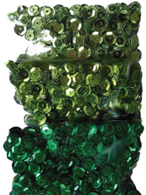 Набор Остров Сокровищ Пайетки Классика 6mm 30g Green 661273
