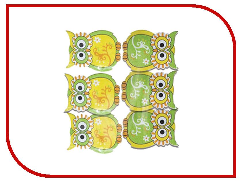 Набор для творчества Остров Сокровищ Прищепки декоративные Совята 6шт ассорти 661290