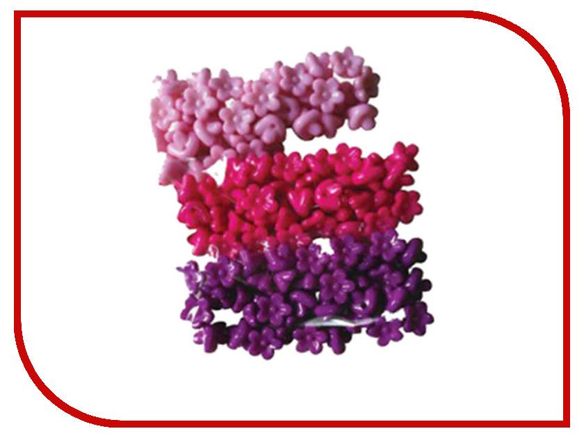 Набор для творчества Остров Сокровищ Бусины Цветы 10mm 30g 3 цвета 661245