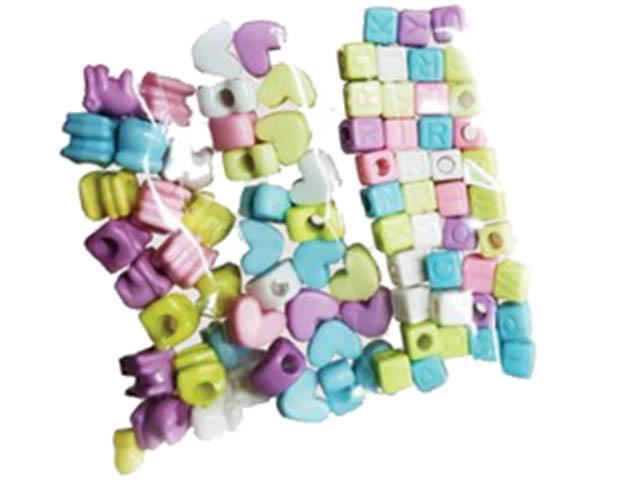 Набор для творчества Остров Сокровищ Бусины Микс №1 7-12mm 30g 6 цветов 661253