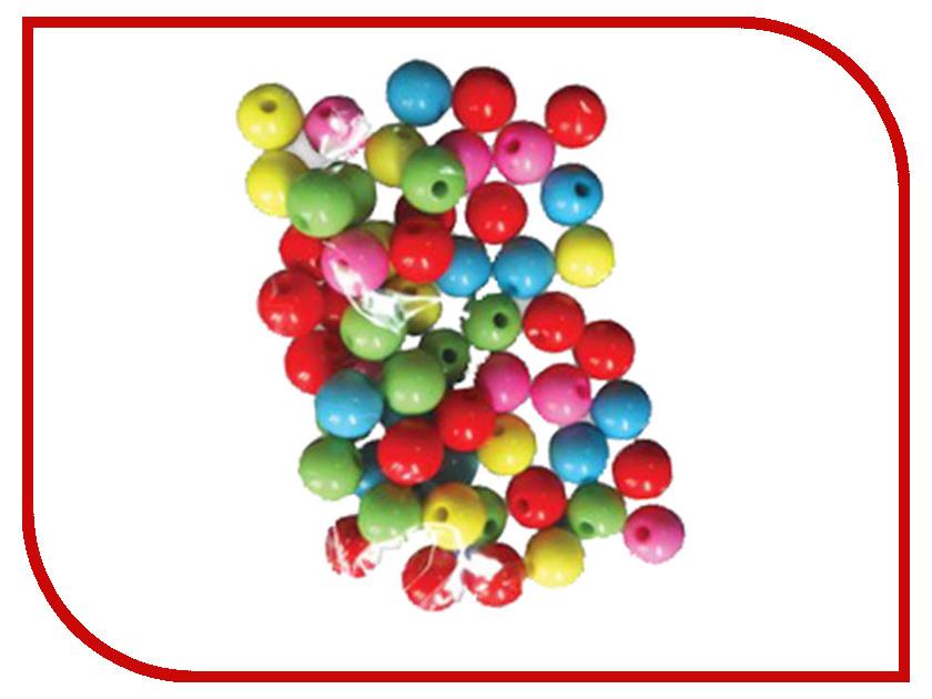 Набор для творчества Остров Сокровищ Бусины Шарики 10mm 30g 5 цветов 661257
