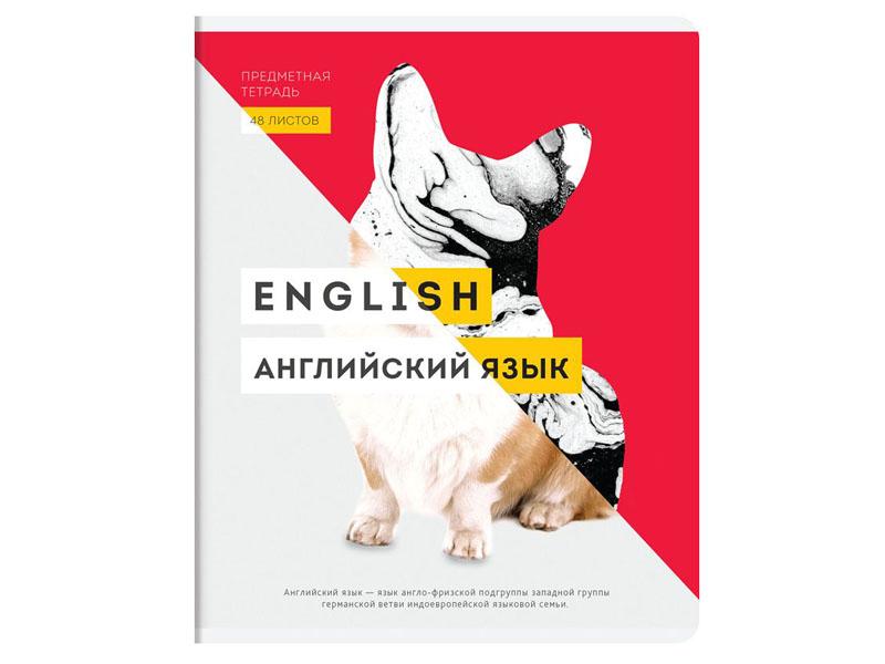 Тетрадь Greenwich Line InVision Английский язык 48 листов EX48-21832