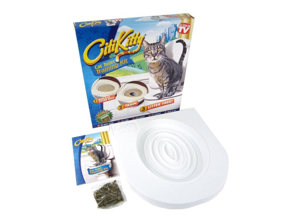 Туалет CitiKitty - набор для приучения кошки к унитазу 085:A