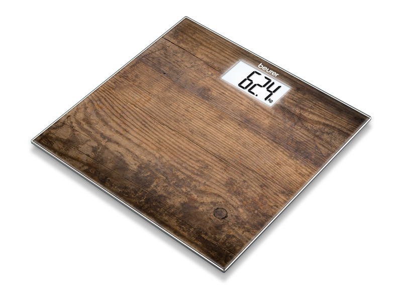 лучшая цена Весы напольные Beurer GS 203 Wood