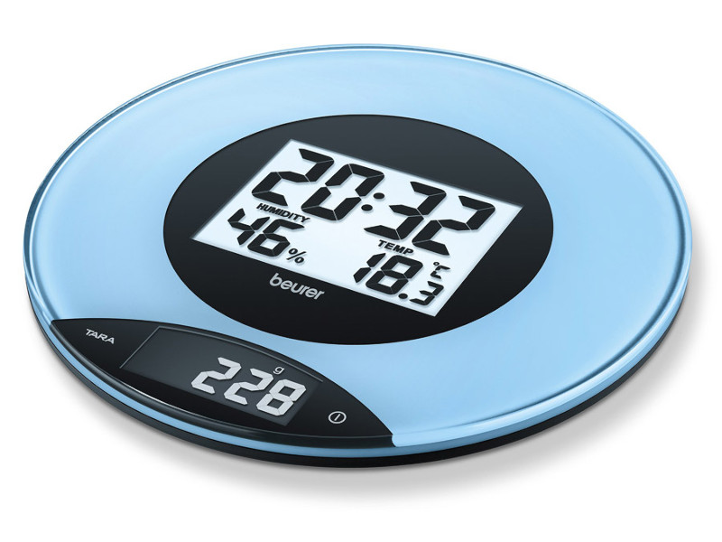 Весы Beurer KS49 Blue умный браслет beurer as80 blue