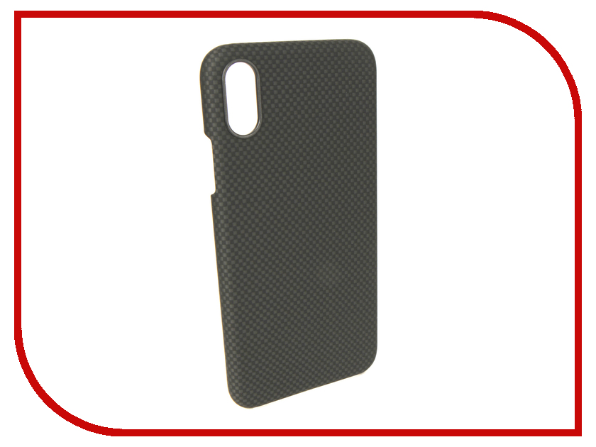 Аксессуар Чехол для APPLE iPhone XS/X Pitaka Aramid Case Black-Grey KI8002XS gumai silky case for iphone 6 6s black
