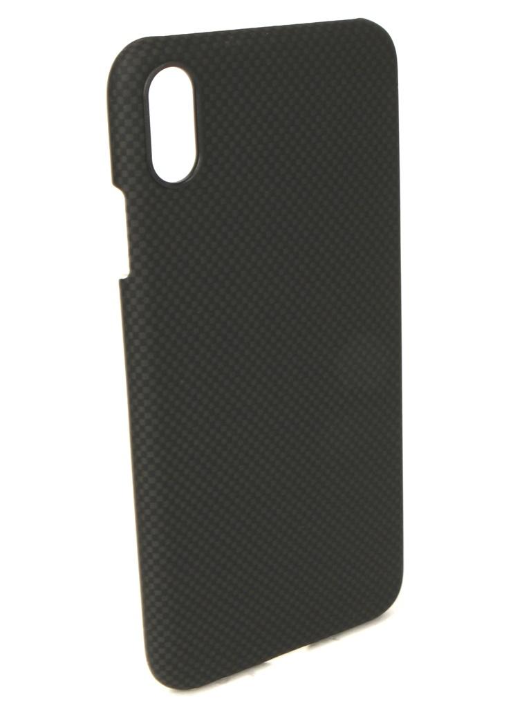 Аксессуар Чехол Pitaka для APPLE iPhone XS Max Aramid Case Black-Grey KI9002XM premintehdw black mortise interior door lock set hinges door stopper 40 50mm thick door