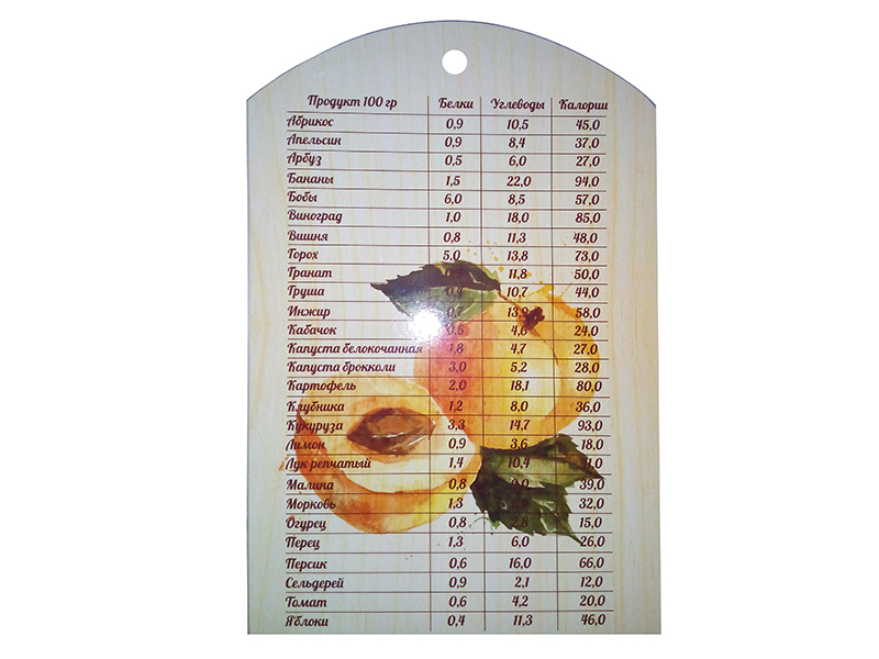 Доска сувенирная Teza Мерино 29x18.5x0.8cm 41-107