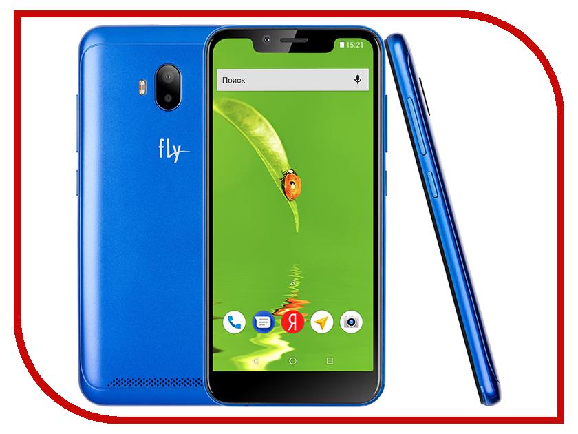 Сотовый телефон Fly View LTE Blue сотовый телефон fly fs523 cirrus 16 lte black