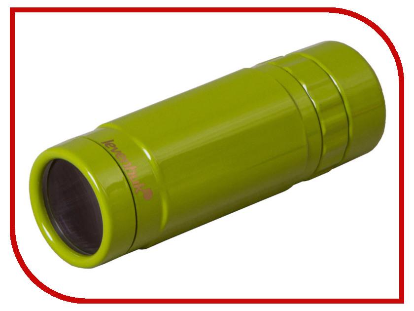 лучшая цена Монокуляр Levenhuk Rainbow 8x25 Lime 72597