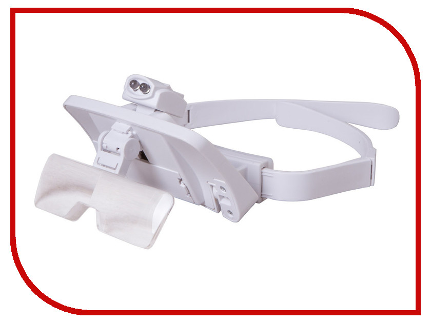 Лупа-очки Levenhuk Zeno Vizor G7 1x/1.5x/2x/2.5x/3.5x 72610 levenhuk zeno gem m1 лупа